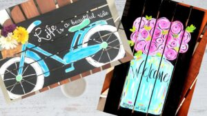 Paint Event with Snappy New Day Art